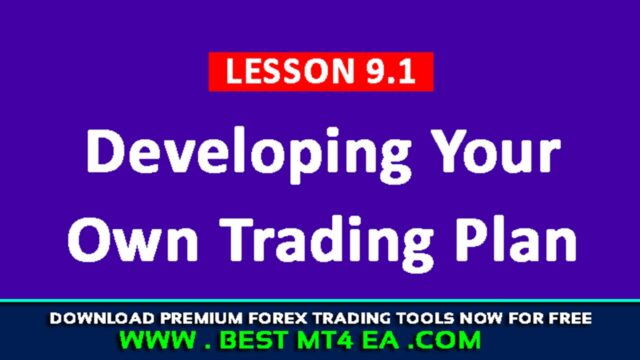 Developing Your Own Trading Plan
