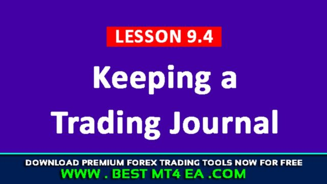 Keeping a Trading Journal