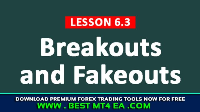 Trading Breakouts and Fakeouts